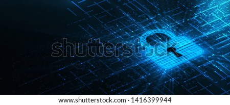 Cyber Security Data Protection Business Privacy concept Сток-фото ©