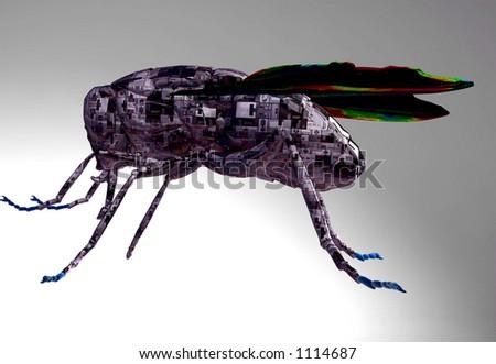 cyborg fly