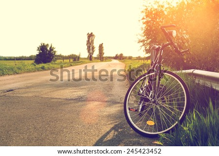 Cycle on the road