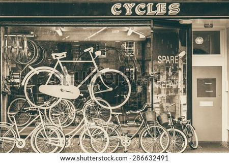 cycles retailer and repair shop ...