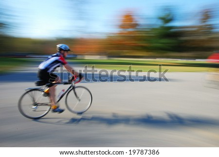 cycling - stock photo