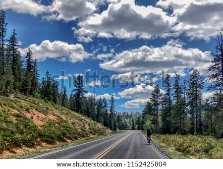 Cycling Bryce Canyon
