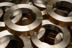 Cylindrical metal steel profiles