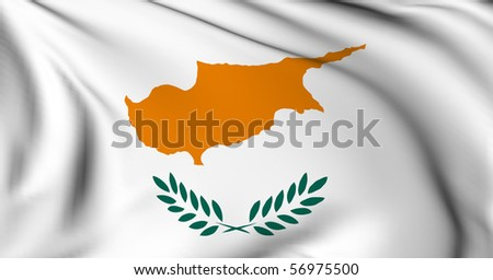 Cyprus flag World flags Collection