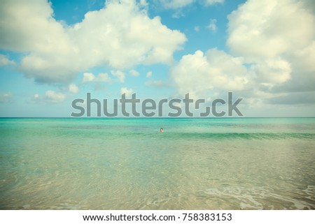 Cyprus sun summer beach #758383153
