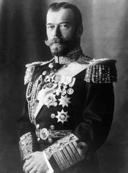 Czar Nicholas II (1868-1918), Czar of Russia (1894-1917), 1917