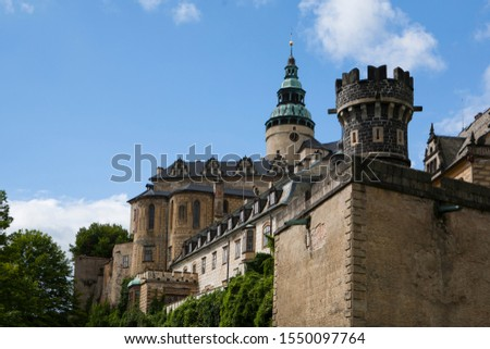 Czech, Friedlant old caste and towers #1550097764