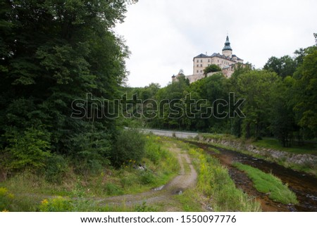 Czech, Friedlant old caste and towers #1550097776