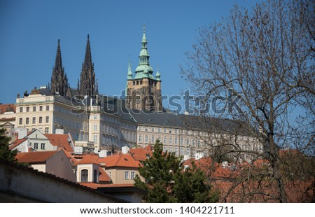 Czech Republic, Prague. A Old Town pavement tower and other famous places #1404221711