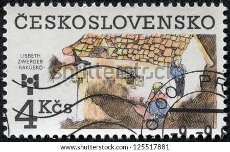 CZECHOSLOVAKIA - CIRCA 1983: The stamp printed in Czechoslovakia shows a fairy-tale, circa 1983