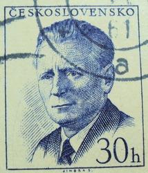 CZECHOSLOVAKIA - 30h : post stamp printed in Czech (Ceskoslovensko)