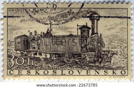 Czechoslovakia mail postage stamps