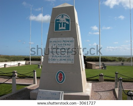 D-day Monument in Normandy, France