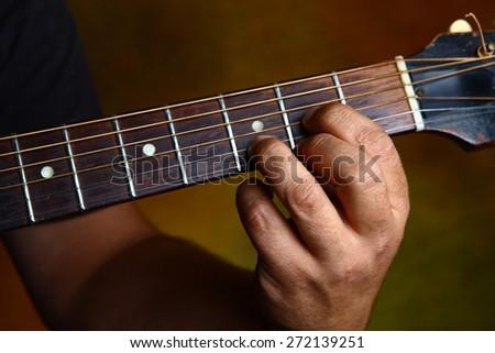 D major chord for guitar | EZ Canvas
