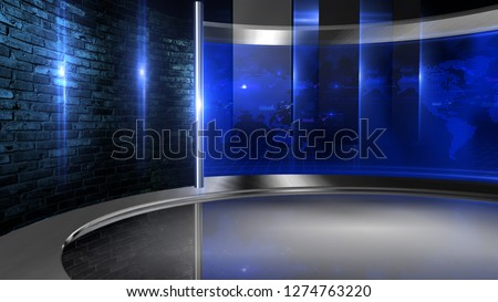 D rendering Virtual set studio for chroma footage Realize your vision for a professional-looking studio – wherever you want it. With a simple setup, a few square feet of space, and Virtual Set