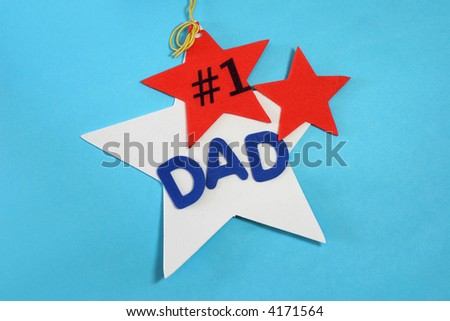 Dad is number one!