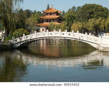 Daguan Park in Kunming, China - stock photo