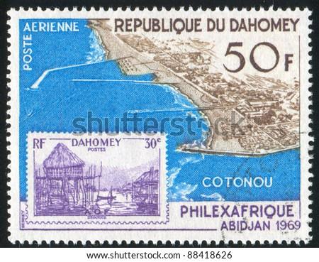 dahomey circa 1969  stamp...