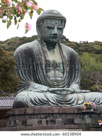 Daibutsu - famous Great Buddha, Kotokuin Temple, Japan