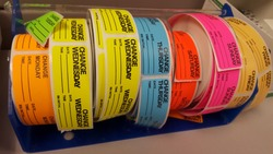 Daily IV Bag Label Stickers for Nursing Use