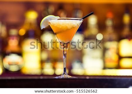 Daiquiri cocktail on the bar #515526562