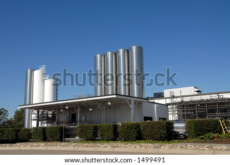 Dairy plant, Tracy, California