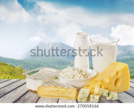 Dairy Product. Dairy products