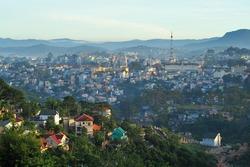 Dalat city, Vietnam.