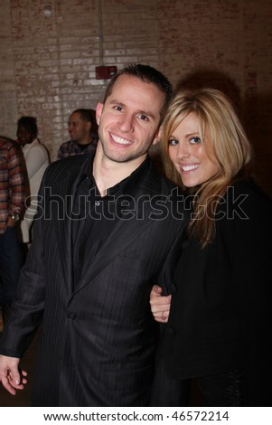 DALLAS - FEBRUARY 12: Dallas Maverick's Guard JJ Barea (l) and his date attend teammate Josh Howard's party co-hosted by Sean Combs during NBA All Star weekend February 12, 2010 in Dallas, Texas.