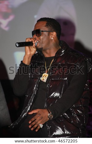 "DALLAS - FEBRUARY 12: Rapper Sean ""Diddy"" Combs performs at the Palladium Ballroom for a NBA All Star Weekend event February 12, 2010 in Dallas, Texas."