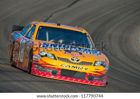 DALLAS, TX - NOVEMBER 04: Kyle Busch 18 at the Nascar Sprint Cup AAA Texas 500 at Texas Motorspeedway in Dallas, TX on November 04, 2012