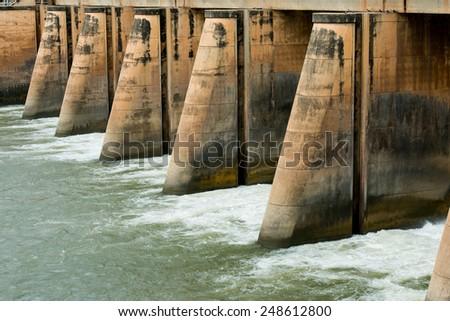 Dam Foto d'archivio ©