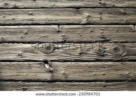 damaged timber floor - Old timber wood
