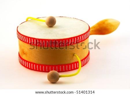 Damasa drum on white