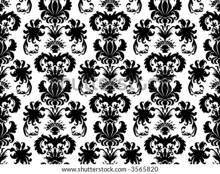 wallpaper patterns damask. stock photo : damask wallpaper
