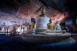 Dambulla historical cave temple in Sri Lanka