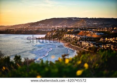 Dana Point California Sunset view