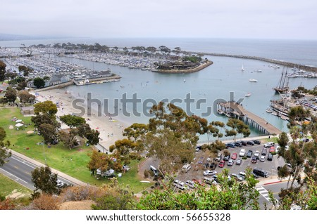 Dana Point Harbor, California, USA