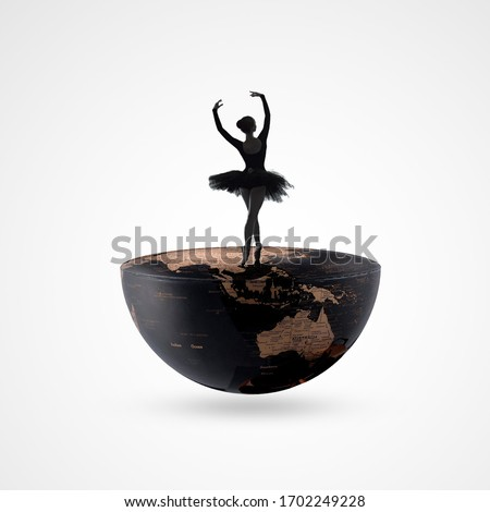 Dance day, April 29, international dance day, dancing couple on background. Design template for banner, flyer, invitation, brochure, poster or greeting card, world Dance day, dancing on world,