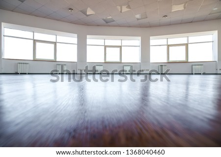 Dance hall. Empty hall for dancing. Dance hall background. #1368040460