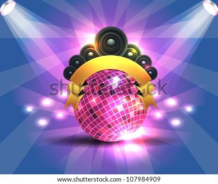 Dance Party Banner Background Flyer Templates Design