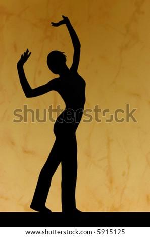 Dance silhouette