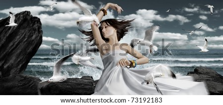 dance with seagulls. see more on my page