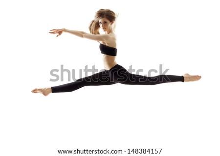 Dancer Leaping - Shutterstock ID 148384157