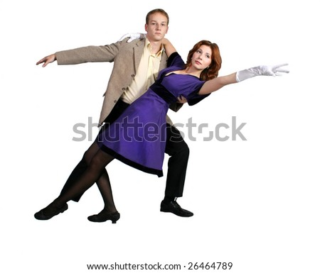 Dancing couple