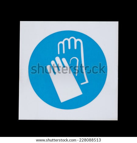 Free Photos Wear Gloves Safety Sign Warning Sign Avopix