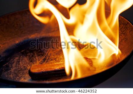 danger cooking