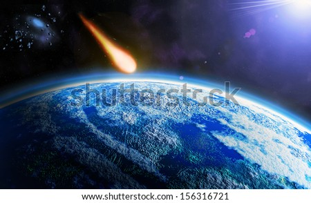 danger from space - asteroid armageddon