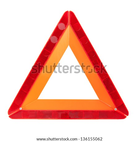 Danger Safety Warning Triangle Sign #136155062