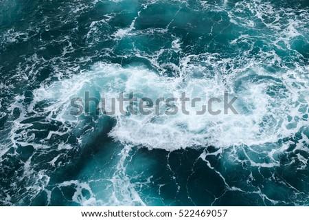 dangerous swirl on the Indian ocean #522469057
